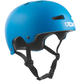 TSG Evolution Solid Color Bike Helmet blue